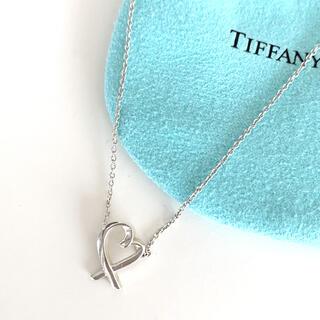 Tiffany & Co. - Tiffany&Co. ネックレス ラビング ハート ペンダント