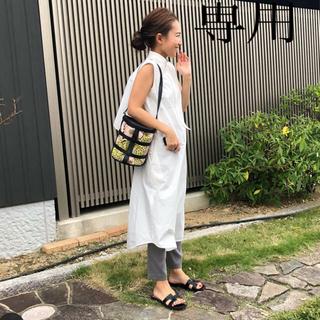 yori シャツワンピース ワンピース ブラウス トップス Tシャツ 36