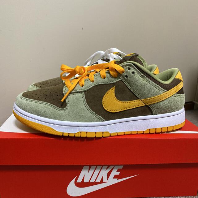 """NIKE(ナイキ)の【新品未使用】NIKE DUNK LOW """"OLIVE GOLD"""" 27.0cm メンズの靴/シューズ(スニーカー)の商品写真"""