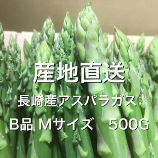 長崎産アスパラガス B品 Mサイズ 500G(野菜)