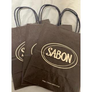 サボン(SABON)のSABON サボン ショッパー 紙袋(ショップ袋)