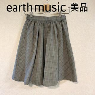アースミュージックアンドエコロジー(earth music & ecology)の美品✰earth music&ecology✰アース✰チェックスカート✰ (ひざ丈スカート)