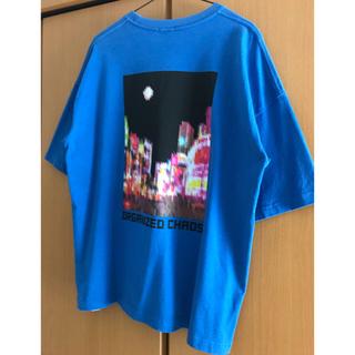 GU - GU ジーユー ゆるだぼ5分Tシャツ パックプリント