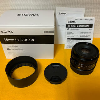 SIGMA - SIGMA 45mm F2.8 DG DN Contemporary Lマウント