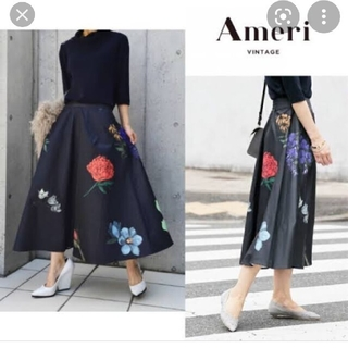 アメリヴィンテージ(Ameri VINTAGE)のameri vintage amanda skirt(ひざ丈スカート)