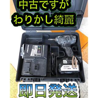 ヒタチ(日立)の今日だけ価格!HITACHI Hikoki インパクトドライバー(工具/メンテナンス)
