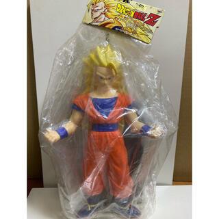 バンプレスト(BANPRESTO)のドラゴンボールZ 孫悟空 スーパーサイヤ人3 ビッグサイズソフビフィギュア(キャラクターグッズ)
