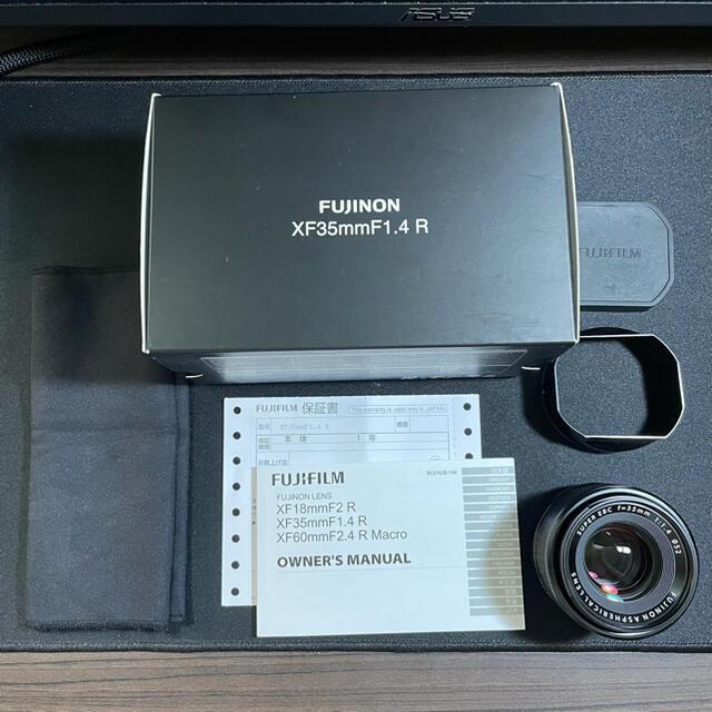 富士フイルム(フジフイルム)のFUJIFILM xf 35mm f1.4 スマホ/家電/カメラのカメラ(レンズ(単焦点))の商品写真