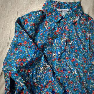 TSUMORI CHISATO - 花柄ワンピースシャツ