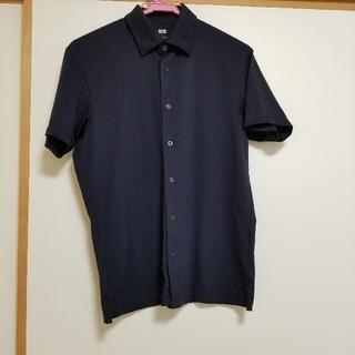 UNIQLO - UNIQLO エアリズム 半袖フルオープンポロシャツ Sサイズ