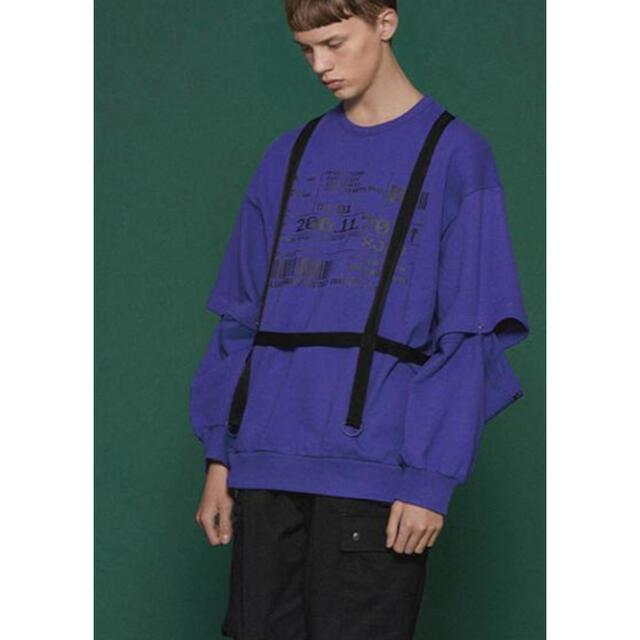 SHAREEF(シャリーフ)のシャリーフ スウェット 紫 メンズのトップス(スウェット)の商品写真