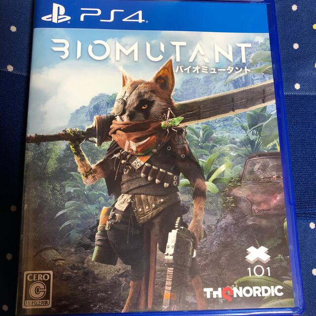 PlayStation4(プレイステーション4)の最安値!バイオミュータント PS4 エンタメ/ホビーのゲームソフト/ゲーム機本体(家庭用ゲームソフト)の商品写真