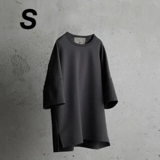 アタッチメント(ATTACHIMENT)のWYM / IRREGULAR SLEEVE RELAX TEE(Tシャツ/カットソー(半袖/袖なし))