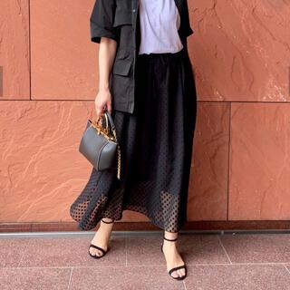 ドゥーズィエムクラス(DEUXIEME CLASSE)のドットマキシスカート forget me not BY TINA CHai(ロングスカート)