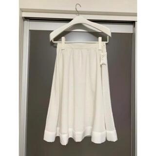 インデックス(INDEX)のINDEX フレアスカート Mサイズ 新品(ひざ丈スカート)
