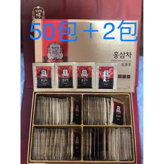 正官庄6年紅参茶・高麗人参茶 3g×50包 +2包(健康茶)