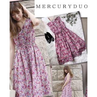 MERCURYDUO - 美品 花柄ワンピース MERCURYDUO