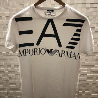 Emporio Armani - EA7エンポリオアルマーニ Tシャツ Sサイズ 白黒