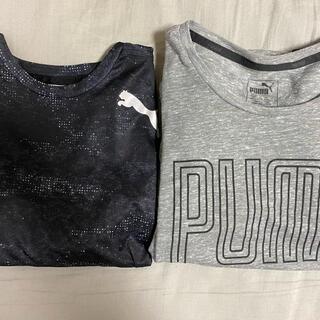プーマ(PUMA)のプーマ スポーツウェア 半袖 トレーニングウェア 2着セット(ウェア)