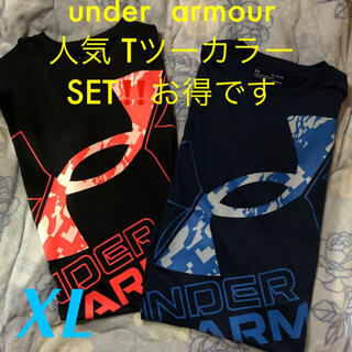 UNDER ARMOUR - 今期の大人気のアンダーアーマーunder armour デカロゴSET XL
