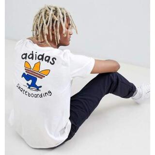 アディダス(adidas)のコラボ adidas×MEKA PUSHING TRE TEE トレフォイル(Tシャツ/カットソー(半袖/袖なし))