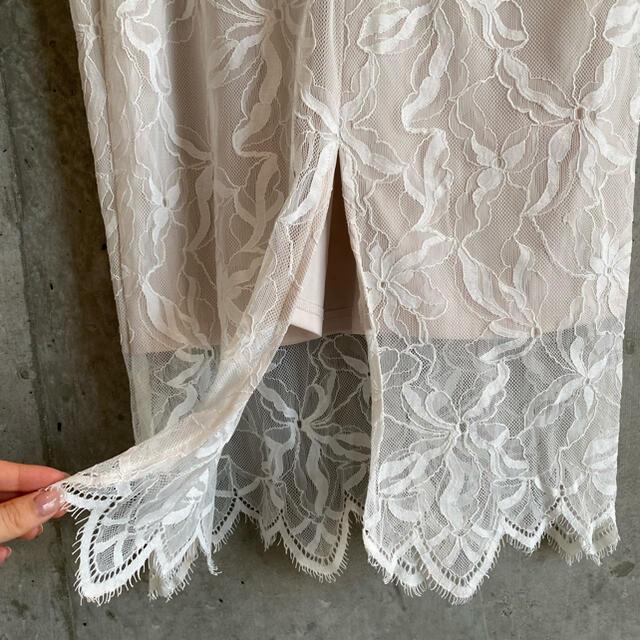 snidel(スナイデル)のsnidel レース タイトスカート レディースのスカート(ひざ丈スカート)の商品写真