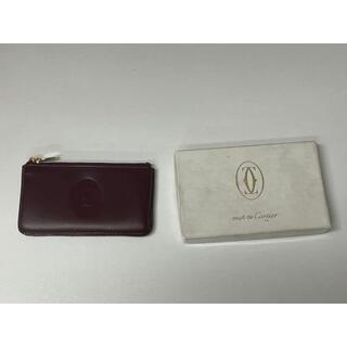 カルティエ(Cartier)の【特価】ほぼ新品 カルティエ コインケース L3000143 MUST DE(財布)