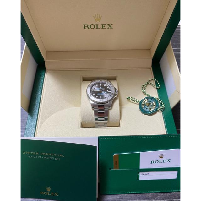 ROLEX(ロレックス)のロレックス ヨットマスター ダークロジウム 268622  メンズの時計(腕時計(アナログ))の商品写真
