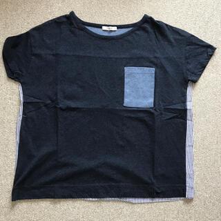プードゥドゥ(POU DOU DOU)のPOU DOU DOU 紺色Tシャツ(Tシャツ(半袖/袖なし))