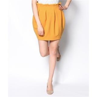 リリーブラウン(Lily Brown)の《Lily Brown》ウエストタック ぷっくりスカート 0(ミニスカート)