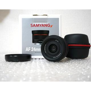 ソニー(SONY)のSamyang 24mm F2.8 SONY レンズ(レンズ(単焦点))