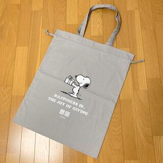 SNOOPY - ユニクロ スヌーピー ノベルティ 巾着 トートバッグ 【未使用】