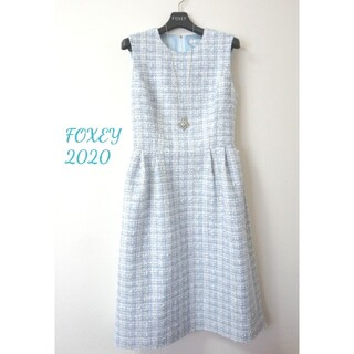 FOXEY - 極美品♡昨年購入♡フォクシー♡ツイードワンピース