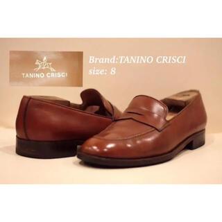 TANINO CRISCI - TANINO CRISCI コインローファー サイズ8