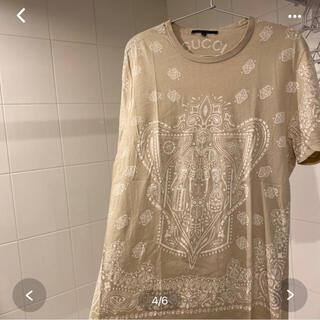 グッチ(Gucci)の専用です。GUCCI  Tシャツ ベージュ(Tシャツ/カットソー(半袖/袖なし))
