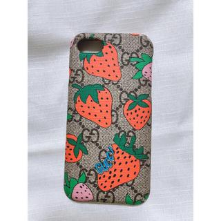 グッチ(Gucci)のGUCCI iPhone8ケース いちご限定(iPhoneケース)