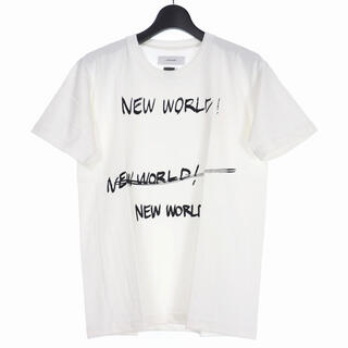 FACETASM - FACETASM ファセッタズム 新品未使用 NEW WORLD Tシャツ