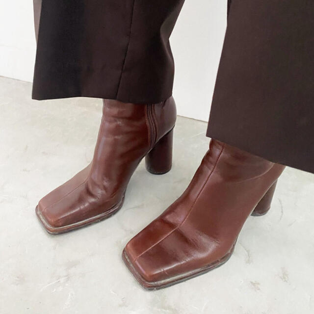 Ameri VINTAGE(アメリヴィンテージ)のアメリヴィンテージ スクエアブーツ レディースの靴/シューズ(ブーツ)の商品写真