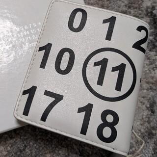 Maison Martin Margiela - 完売品 メゾンマルジェラ 未使用 二つ折り財布 ホワイト