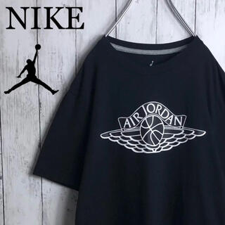 NIKE - 【美品】ナイキ ジョーダン JORDAN ウイングロゴ Tシャツ M 黒