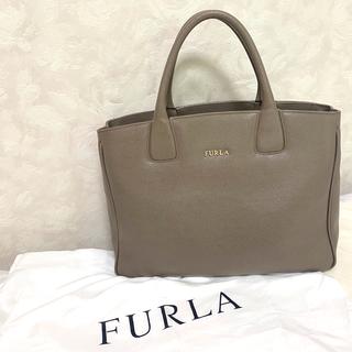 Furla - FURLA フルラ ハンドバッグ ショルダーバッグ グレージュ