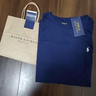 POLO RALPH LAUREN - (未使用)ラルフローレン ネイビーTシャツ