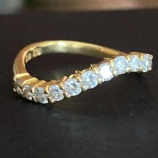 K18YG ダイヤリング 0.50ct