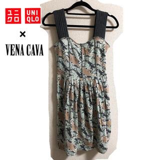ユニクロ(UNIQLO)の【送料込み】VENA CAVA × UNIQLO コラボ キャミワンピース M(ミニワンピース)