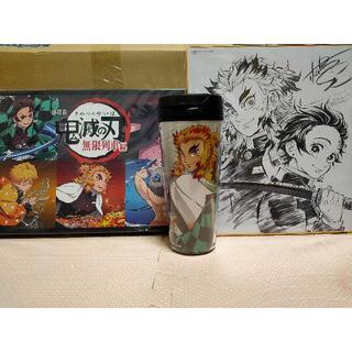 鬼滅の刃 無限列車DVD 楽天ブックス 特典 豆皿 タンブラー 色紙