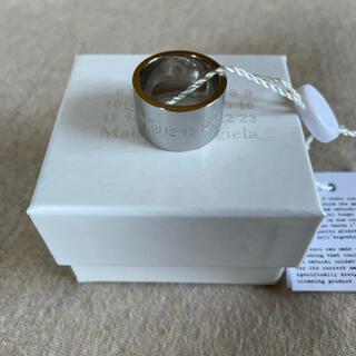 Maison Martin Margiela - S新品 メゾン マルジェラ カレンダーロゴ リング ポリッシュ 指輪 メンズ