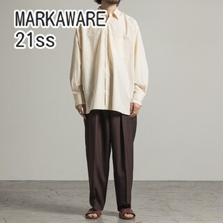 MARKAWEAR - MARKAWARE 21ss コンフォートフィットシャツ marka シャツ