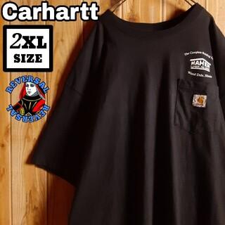 carhartt - オーバーサイズ Carhartt カーハート 企業プリント ポケット Tシャツ