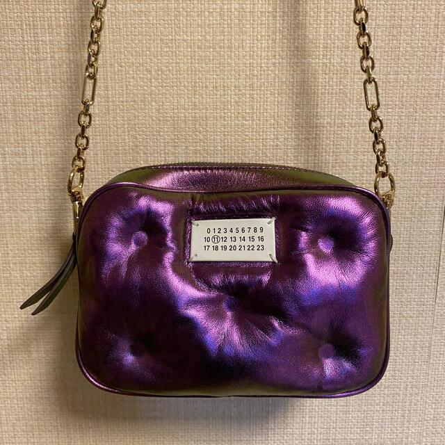Maison Martin Margiela(マルタンマルジェラ)のMaison Margiela  ロゴショルダーバッグ 購入金額約18万円 レディースのバッグ(ショルダーバッグ)の商品写真