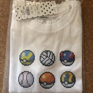 adidas - キッズ140 adidas×ポケモン Tシャツ 新品